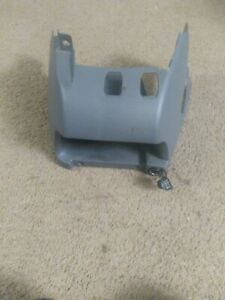 05 Chrysler Town Country Center Floor Console Cubby Gray Oem