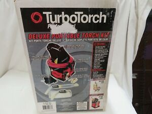 Turbotorch 0386 1397 Pl dlxpt Deluxe Portable Torch Kit Map pro propane