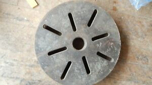 13 Southbend Lathe 11 Inch Faceplate 8 Threads Per In 1 3 4 Dia Face Plate