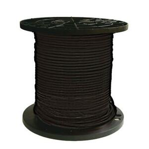 Southwire Thhn Wire 500 Ft 8 Black Stranded Cu Simpull Heat Resistant