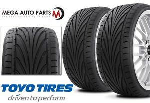 2 New Toyo Proxes T1r 255 30r21 93y Ultra High Performance Uhp Summer Tires