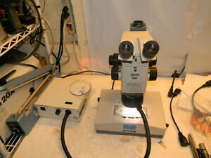 Olympus Szh10 Research Stereo Trinocular Microscope 1x Plan Szh illd Stand More