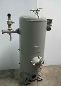 1 Pressure Vessel Vacuum Tank Compressor Air Receiver 60 Gallon Vertical Vessel