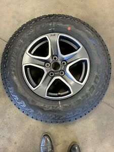 Jeep Wrangler Jl Wheels Tires Almost New Barely Used