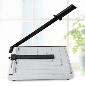 A4 To B7 Paper Photo Cutter Guillotine Trimmer Commercial Metal Base 12inch