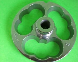 22 Kidney Plate For Stuffing Sausage With Your Meat Grinder Stainless Steel