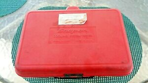 Snap On Tools Vintage The Svts 262 Just Case Only 12 X 8 X 4 Very Good Condition
