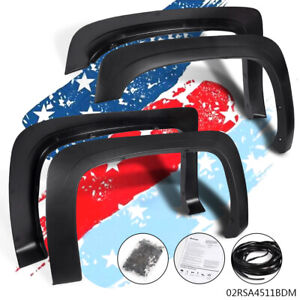 For 07 13 Silverado 1500 Standard Cab Extended Cab Factory Style Fender Flares