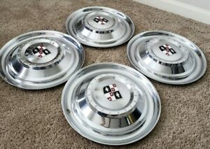 Set Of 4 Used 1956 1957 Studebaker Golden Hawk Hawk Hubcaps