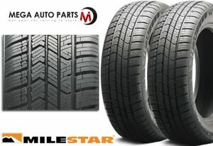 2 Milestar Weatherguard Aw365 215 55r17 98h All Weather Performance 3pmsf Tires