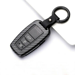 Black Keyless Entry Remote Control Car Key Shell For 2018 2019 2020 Toyota Camry