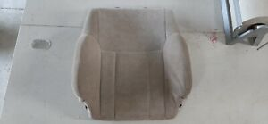 96 02 Toyota 4runner Truck Tan Cloth Driver Left Front Seat Back Cushion Oem