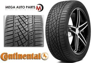 1 Continental Extremecontact Dws06 265 40zr22 106w All Season Performance Tires