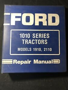 New Holland Ford Tractor 1910 And 2110 Repair Manual 580