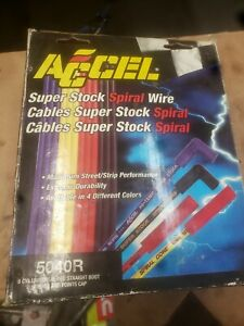 Accel 5040r Universal Fit Spark Plug Wire Set