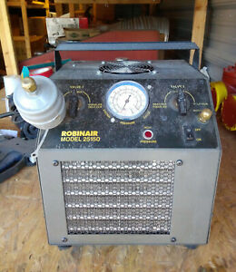 Robinair Cool Tech Refrigerant Recovery System 25150b Cooltech