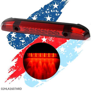 For 2001 2004 Nissan Frontier Pickup Rear Third 3rd Brake Led Light Lamp Red