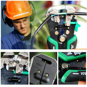Automatic Wire Stripper Tools Cutter Pliers Electrical Cable Stripping For Elect