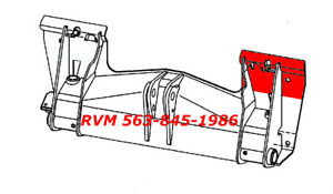 Rvm Repair Panel For Mount Plate 6577986 lh 3 Pieces For Bobcat W Bobtach