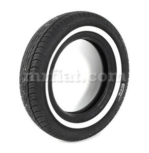 Fiat 500 600 Michelin X 125 12 20 Mm Whitewall Tire New