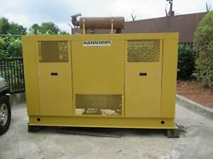 85 Kw Natural Gas Or Propane Powered Generator In Near Perfect Condition Ford I
