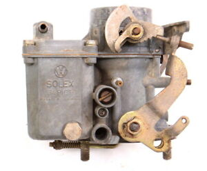Solex 34 Pict 3 Carburetor Carb 71 79 Vw Beetle Bug Aircooled Dual Port 1600