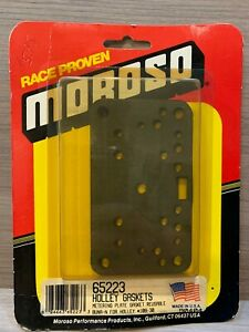 Moroso Holley Metering Plate Gaskets 65223 For Holley 108 30