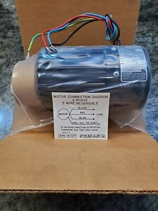 Bodine Electric 0295 1 5 Hp 1700 Rpm 119 Oz in 34r6bfpp 230 Vac Small Motor