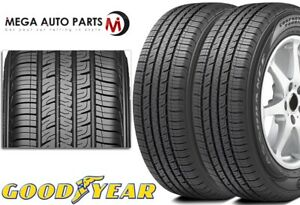 2 Goodyear Assurance Comfortred Touring 225 55r16 95h All Season 80k Mi Tires