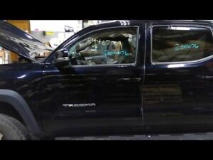 Driver Front Door Black Electric Windows Fits 16 18 Tacoma Paint Code 218 700869