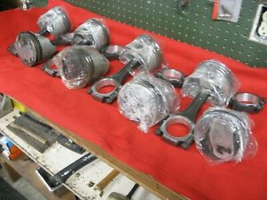 Chevrolet Corvette Ls5 454 Dimple Rods Standard Bore Pistons 427