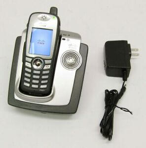 Cisco 7921 Wireless Ip Phone 74 4953 02 With Dock Charger Cp dskch 7921g