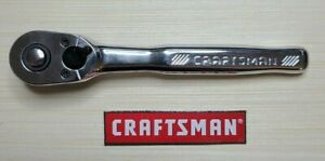 New Craftsman 1 4 Drive Full Polish 72 Tooth Ratchet Cmmt 81747