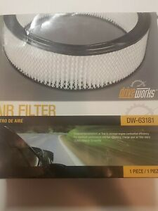 Engine Air Filter Dw63181 Fits Buick Cadillac Chevy Gmc Oldsmobile Pontiac 14x4