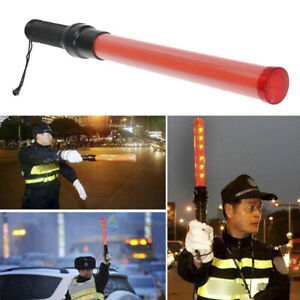 Signal Led Traffic Safety Wand Baton Road Control Warning Light Traffic Conhy