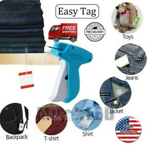 New Garment Clothing Price Label Tagging Tag Tagger Gun With 2000 Barbs