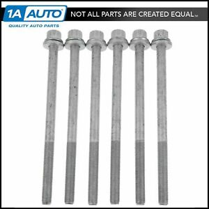 Cylinder Head Bolt Set Of 6 For Subaru Ej25d Ej255 Impreza Legacy Wrx Sti 2 5
