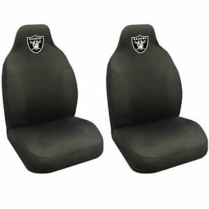 New Raiders High Back Buckets Car Seat Covers Suv Pair