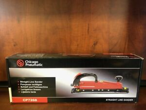 New Chicago Pneumatic Cp7268 Straight Line Sander