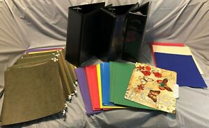 4 Inch Binders And Filing Folder Office Supplies Bundle