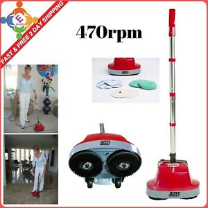 Commercial Grade Carpet Tile Cement Wood Floor Cleaner Scrubber Machine Buffers