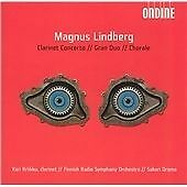 Magnus Lindberg Clarinet Concerto; Gran Duo; Chorale CD 2005 NEW AND SEALED