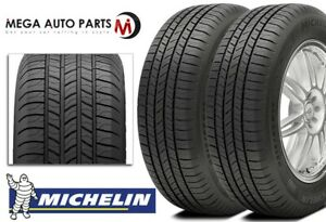 2 Michelin Energy Saver A S 225 50r17 94v All Season Fuel Efficient Touring
