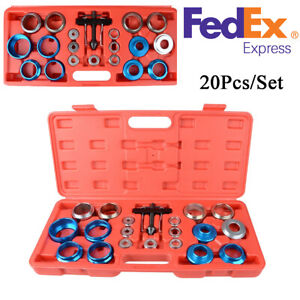 20pcs Car Camshaft Crank Crankshaft Oil Seal Remover installer Tool Kit Us Stock