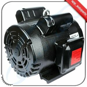 3 Hp Compressor Duty Electric Motor 184t Frame 1750 Rpm Single Phase 3hp