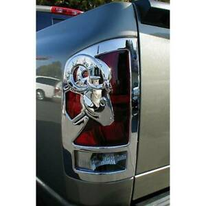Dodge Ram Big Horn 1500 Chrome Tail Light Covers 2009 2019