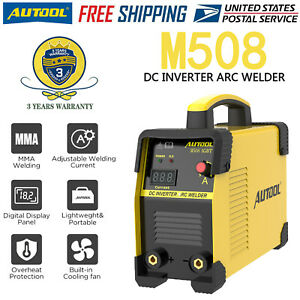 Mma Arc Welding Machine 110v 220v 160a Portable Dc Igbt Inverter Welder Us Plug