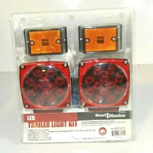New Haulmaster Led Trailer Light Kit Trailer Lights Haul Master 60521