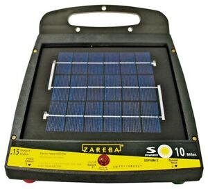 New Zareba Esp10m z 10 mile Solar Low Impedance Fence Charger 6841316