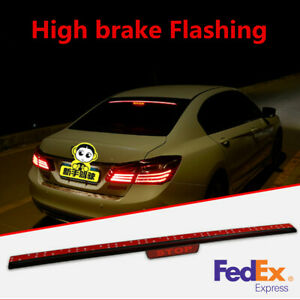 90cm Led Car Auto Brake Stop Light Bar Flashing Strobe Bar Driving Running Light